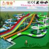 Buy cheap 7 m Platform Height Fiberglass Swimming Pool Slides from wholesalers