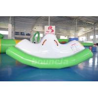 Wholesale 0.9mm PVC Tarpaulin Inflatable Water Totter / Inflatable Water Seesaw For Pool from china suppliers