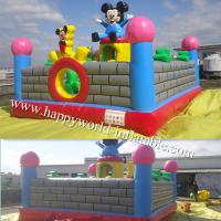 inflatable amusement park , inflatable playground balloon , inflatable fun city