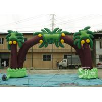 Quality New tropical coconut tree advertising inflatable arch for sale for sale