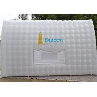 Large White Inflatable Cube Tent 420 D Oxford Cloth Apply To Trade Show
