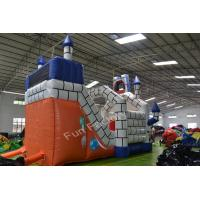 China Playground Round Inflatable Bounce House Amusement Park Funny on sale