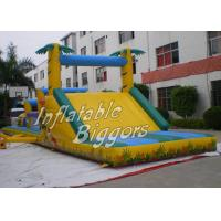 Quality Playground Jungle Inflatable Obstacle Course Puncture-Proof , AU Inflatable Obstacle for sale
