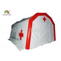 China PVC Airtight Inflatable Medical Tent Most Practical Air Sealed Inflatable Rescure Tent on sale
