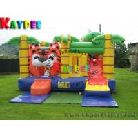 Wholesale Fun Tiger Combo ,inflatable bouncer with slide KCB005 from china suppliers