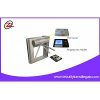 Wholesale Fingerprint Reader ESD Turnstile Barrier Gates For Factory Entrance And Exit from china suppliers