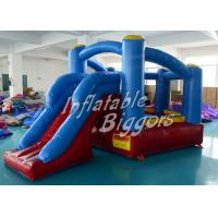 Wholesale Mini Moonwalk Commercial Inflatable Bouncers House PVC For Residential , ASTM F963 from china suppliers