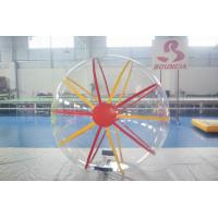 Quality Transparent Inflatable Water Walking Ball / Water Rolling Ball For Fun for sale