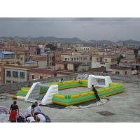 Wholesale Newest And Hottest Inflatable Football Sport Field For Rental , Inflatable Soccer Field from china suppliers