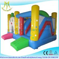 Wholesale Hansel inflatable game for children,inflatable bossaball game court,bouncy castle slide from china suppliers