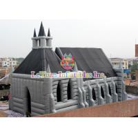 China Multi Color Inflatable Halloween House Tent Waterproof Unique Design on sale