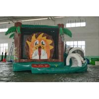 Wholesale jungle inflatable bouncy castle 4.5*4.5m from china suppliers