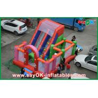 Wholesale Red PVC Inflatable Bounce Waterproof Blast Zone Magic Inflatable Bouncy Castle from china suppliers