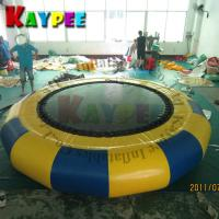 Wholesale 4M Water trampoline,water jumping trampoline,KWT004 from china suppliers