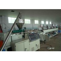 Wholesale PVC 4 - Cavity Pipe Extrusion Production Line / Plastic Pipe Threading Machine from china suppliers