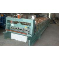 Wholesale Industrial Steel Roof Tile Roll Forming MachineWith Automatic SAJ Inverter from china suppliers