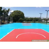 Wholesale Shanghai Ecological Park Construction Project Case Silicon PU Sports Court from china suppliers