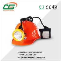 Wholesale High Brightness 15000 Lux Kl5lm Mining Cap Lamps Under Ground With Cable from china suppliers