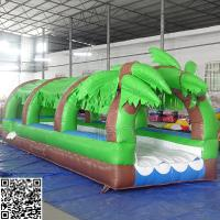 Wholesale Giant Pvc Forest Inflatable Slide Inflatable Amusement Park Equipment OEM / ODM from china suppliers
