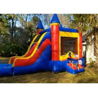 Wholesale Colorful High Strength Inflatable Bounce House Combo Customized Size from china suppliers