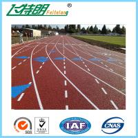 Sports Field Rubber Jogging Track Material For Outdoor Sports Flooring