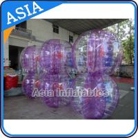 Wholesale Exciting 1.0mm PVC Soccer Bubble Ball Inflatable For Commercial from china suppliers