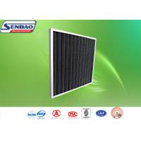 Wholesale Customized Pleated Panel Air Filters Activated Carbon Synthetic Fiber from china suppliers