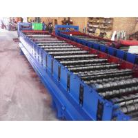 Wholesale Galvanized Metal Corrugated Sheet Roll Forming MachineWith Hydraulic Cutter from china suppliers