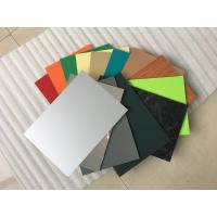 Wholesale High Intensity Polyester Aluminium Composite Panel , Aluminum Wall Panels Exterior  from china suppliers