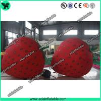 Wholesale Fruits Festival Inflatable Model Holiday Event Inflatable Strawberry from china suppliers
