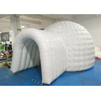 Wholesale Durable Snow Inflatable Igloo Tent PLT - 135 For Promotions Grand Opening from china suppliers