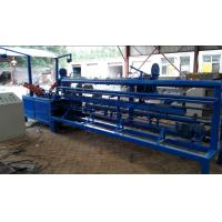 China Easy Operate Chain Link Fence Machine / Wire Mesh Weaving Machine For Highway on sale