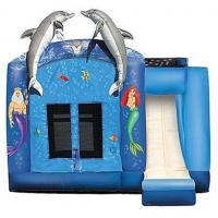 Buy cheap Inflatable Bouncer with Inflatable Slide from wholesalers