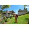 Buy cheap Huge Corten Steel Sculpture Metal Art Design As Outdoor Decoration For Garden from wholesalers