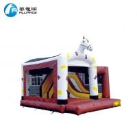 Wholesale Waterproof Commercial Blow Up Bounce House Horse Pattern Customized Design from china suppliers