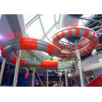 Wholesale Stable Running Spiral Tube Water Slide Customized Color Easy Operation from china suppliers