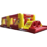 Buy cheap Inflatable bouncy castle,inflatable jump,inflatable tunnel from wholesalers