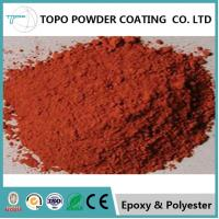 China RAL 1017 Thermoset Powder Coating For Business Machines Saffron Yellow Color on sale
