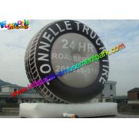 Wholesale Giant Inflatable Tyre Model , Promotional Inflatable Tyre Balloon Display from china suppliers