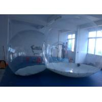 Wholesale Round Transparent inflatable lawn tent bubble for camping , movable and foldable from china suppliers