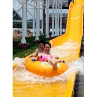 Buy cheap High Speed Fiberglass Water Slides / Ashland Gel Coat Outdoor Pool Slides from wholesalers