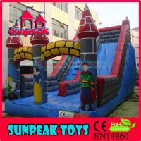 Wholesale SL-228 Popuplar Custom Inflatable Castle With Slide from china suppliers