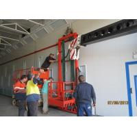 Quality Powder Coating Truck Spray Booth 66KW Luxury With Pneumatic Damper for sale