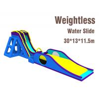 Wholesale Weightless Inflatable Slide Customized Color Commercial PVC Tarpaulin Material from china suppliers