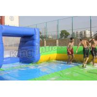 Wholesale Giant Soap Water Football Field Inflatable Soccer Field for Sale from china suppliers