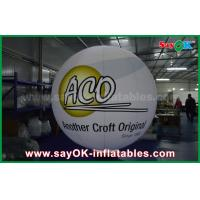 Wholesale 0.2mm PVC Airtight Inflatable Ground Balloons Waterproof With Logo Print from china suppliers