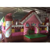 Buy cheap Kids Candy House Princess Bouncy Castle , Exquisite Blow Up Jumping Castle from wholesalers