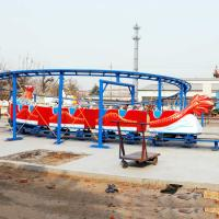 Wholesale Dragon Roller Coaster Ride 16 Riders Single Or Double Ring Track from china suppliers