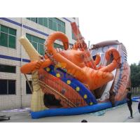 Wholesale Giant Octopus PVC Commercial Inflatable Slide With Double Lane from china suppliers