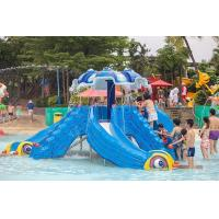 Wholesale Funny Kids Water Park Playground Slides from china suppliers